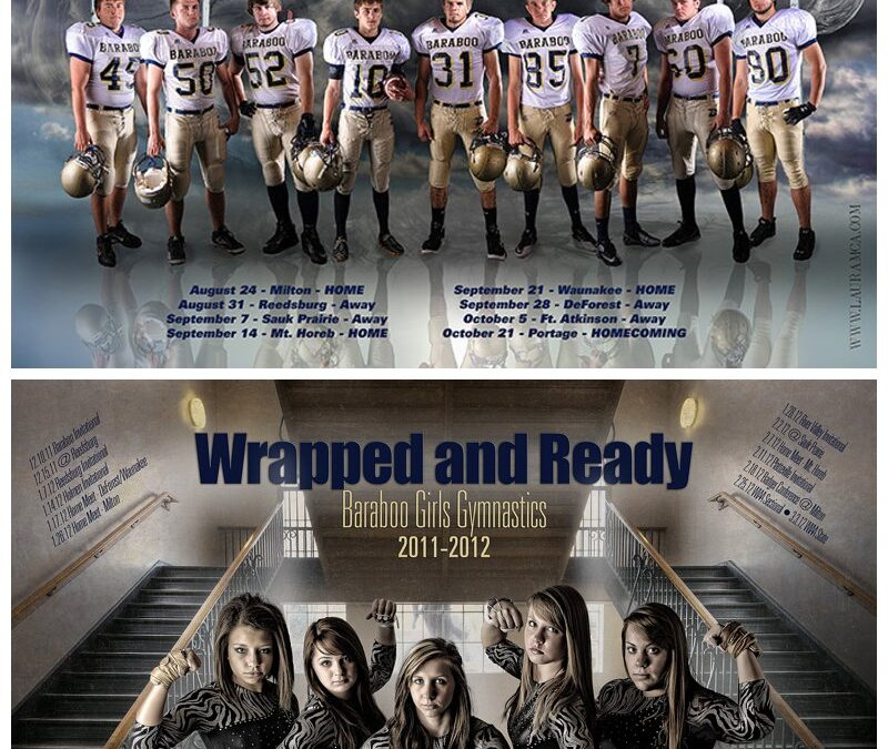 Anatomy of a Sports Poster…Baraboo Senior Photographer