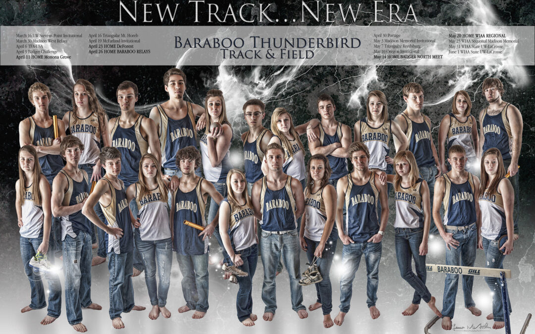Seniors are on track…Baraboo Senior Photographer